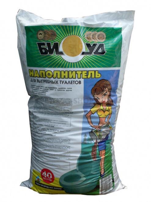 Торфяная смесь для биотуалетов БИУД 40 л купить в интернет-магазине Piteco-shop по низкой цене