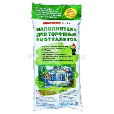 Торф для туалетов Bioforce 30 литров купить в интернет-магазине Piteco-shop по низкой цене
